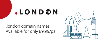 New .london domain names now available from Global Gold
